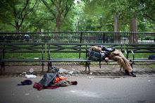 Crusty Row, Tompkins Square Park, 2010