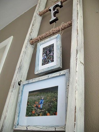 HOME DECOR INSPIRATION Shabby Chic Ladder