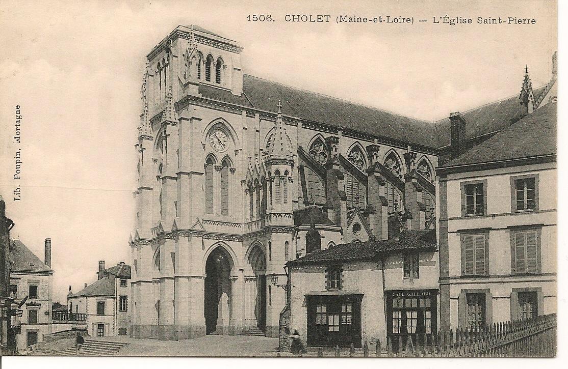 Collectionneur de timbres et de cartes postales: Cartes Postales de CHOLET