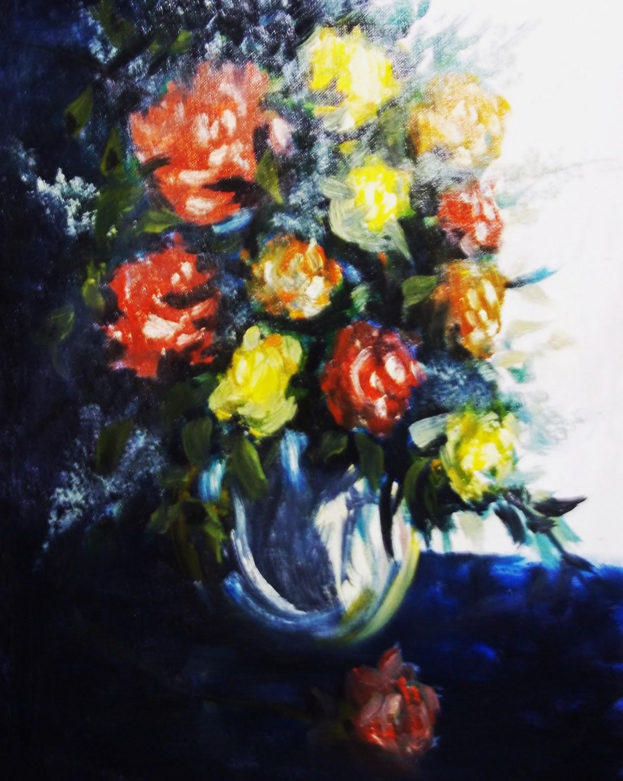 Arni S Art Blog Dark Flowers