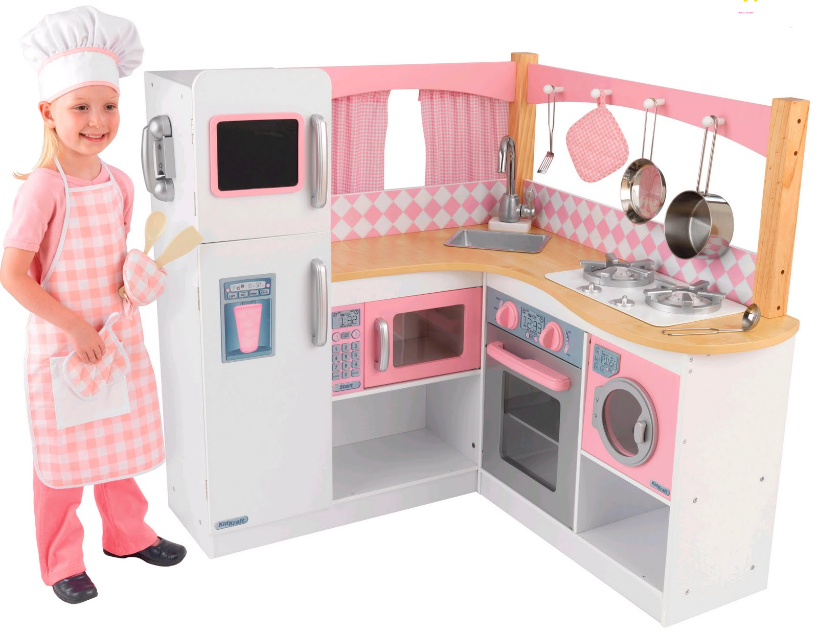 play kitchen for toddlers replacement doors cabinets children 39s wooden toys toy furniture