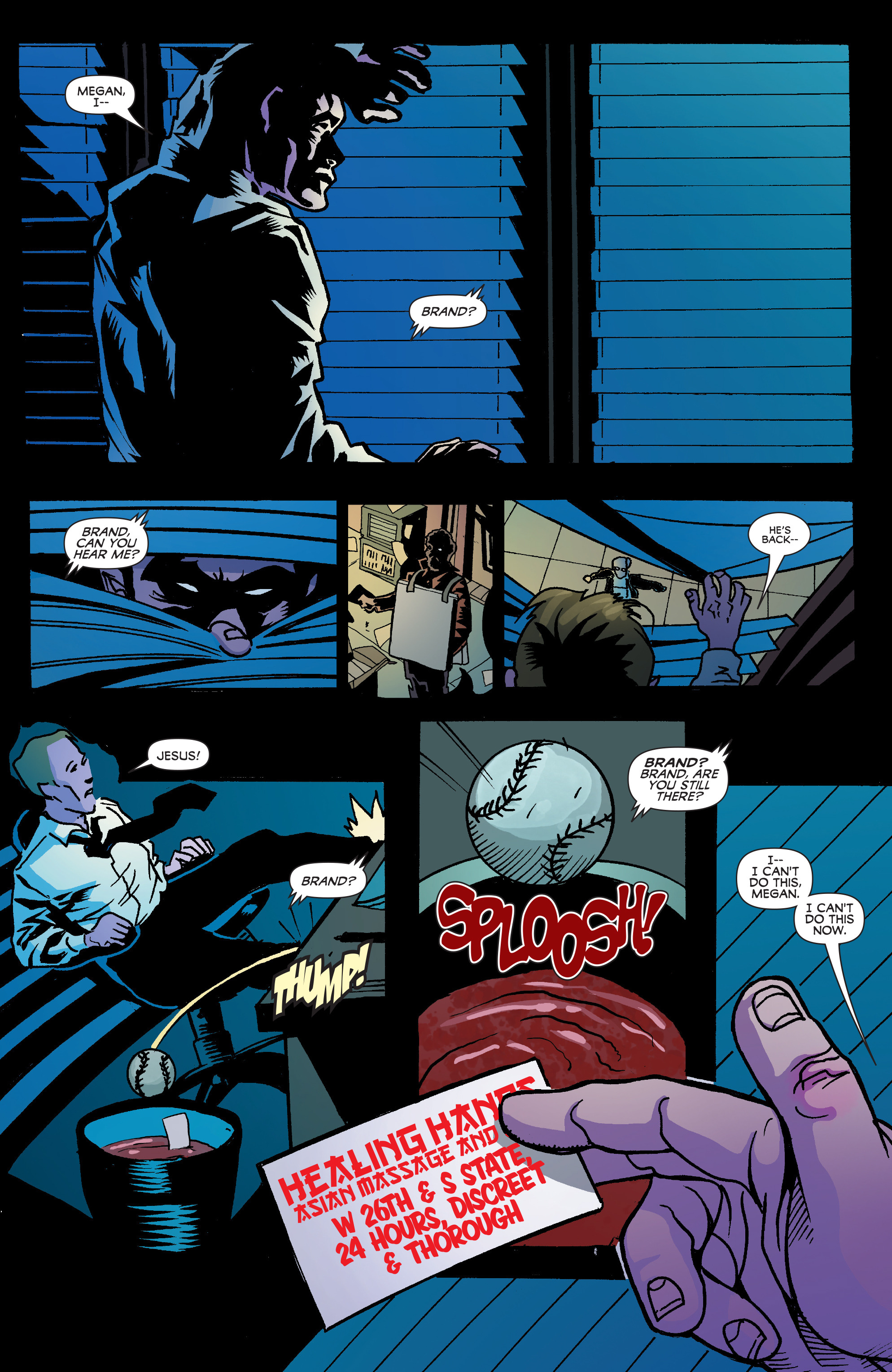 Read online Blood Blister comic -  Issue #2 - 20