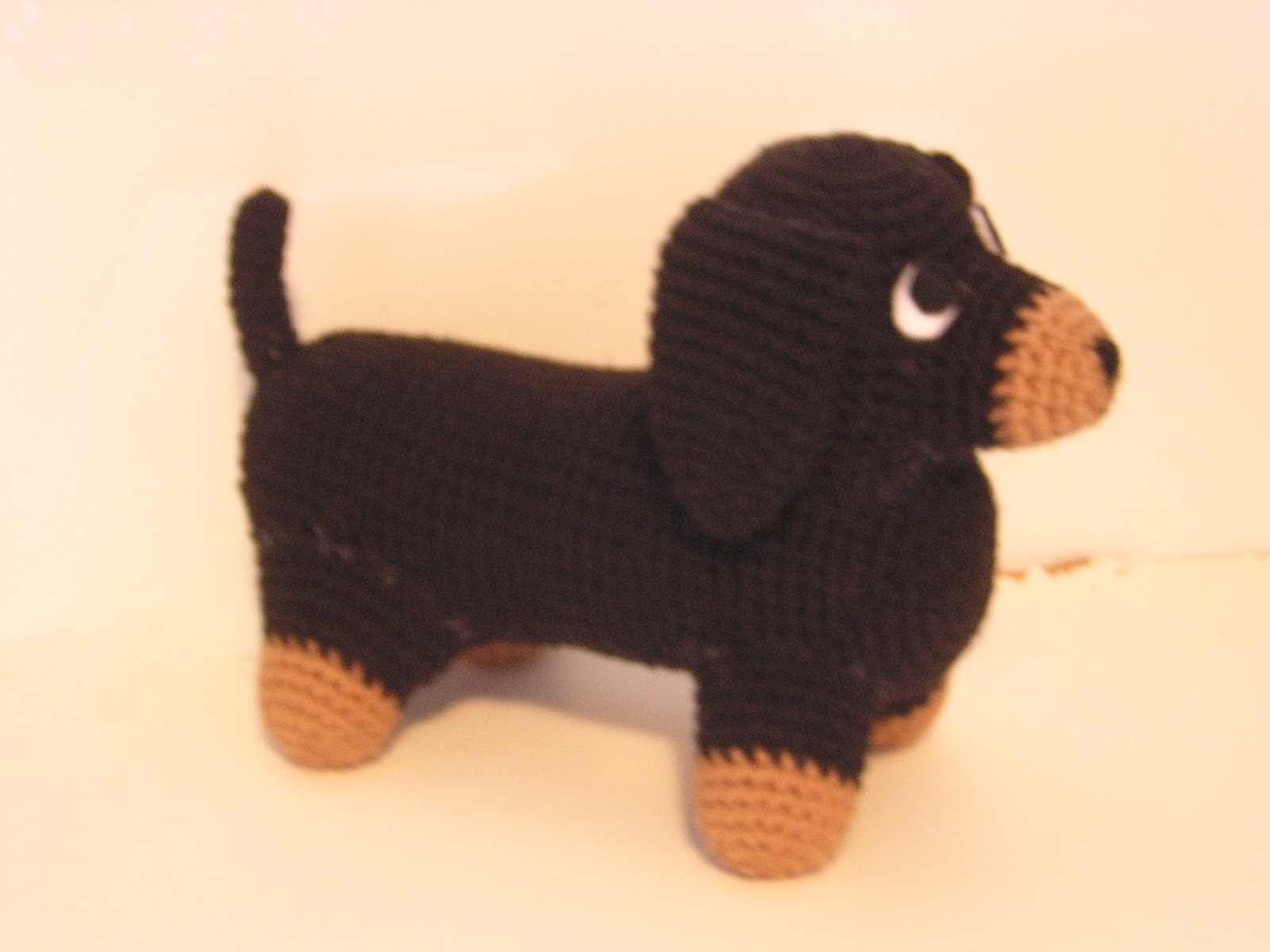 Crochet Cute Amigurumi Dachshund Dog Part 1 of 2 DIY Video ... | 1200x1600