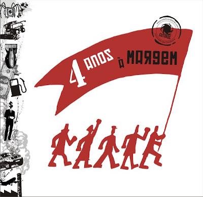 Imagem comemorativa dos quatro anos do coletivo.