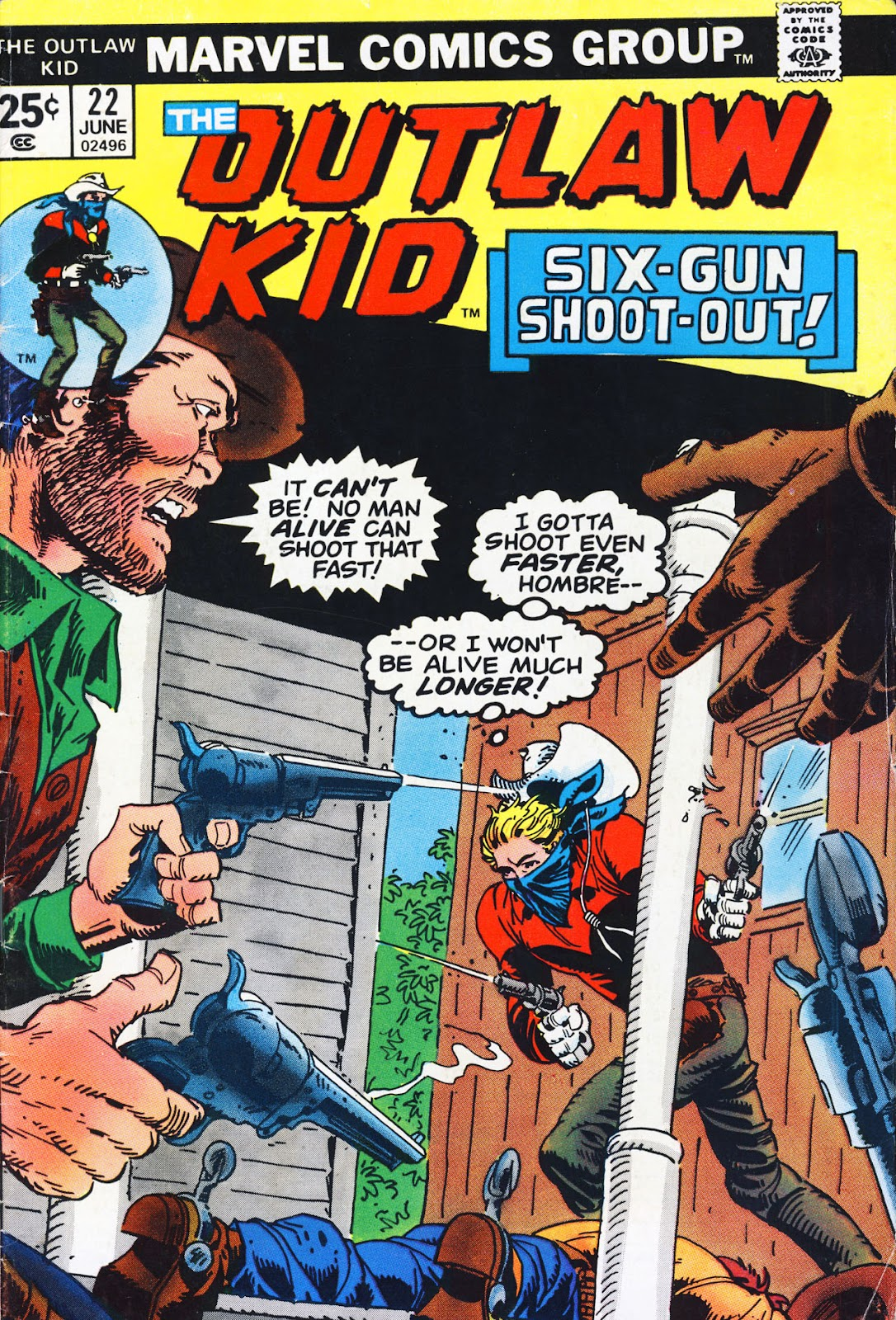 The Outlaw Kid (1970) 22 Page 1