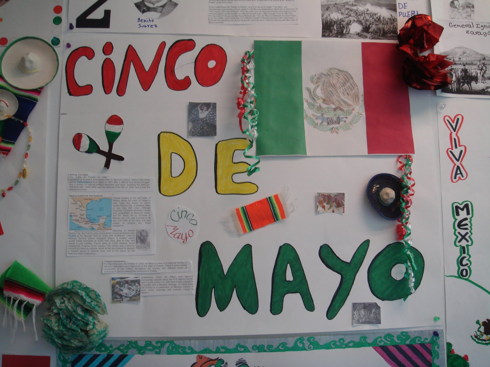 Spanish Class 5 De Mayo Posters