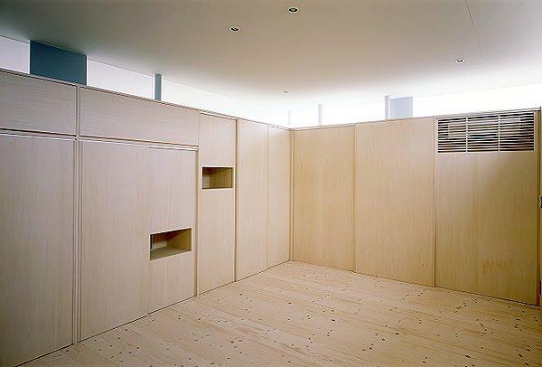 Interiores minimalistas casa minimalista por junichi for Interiores minimalistas