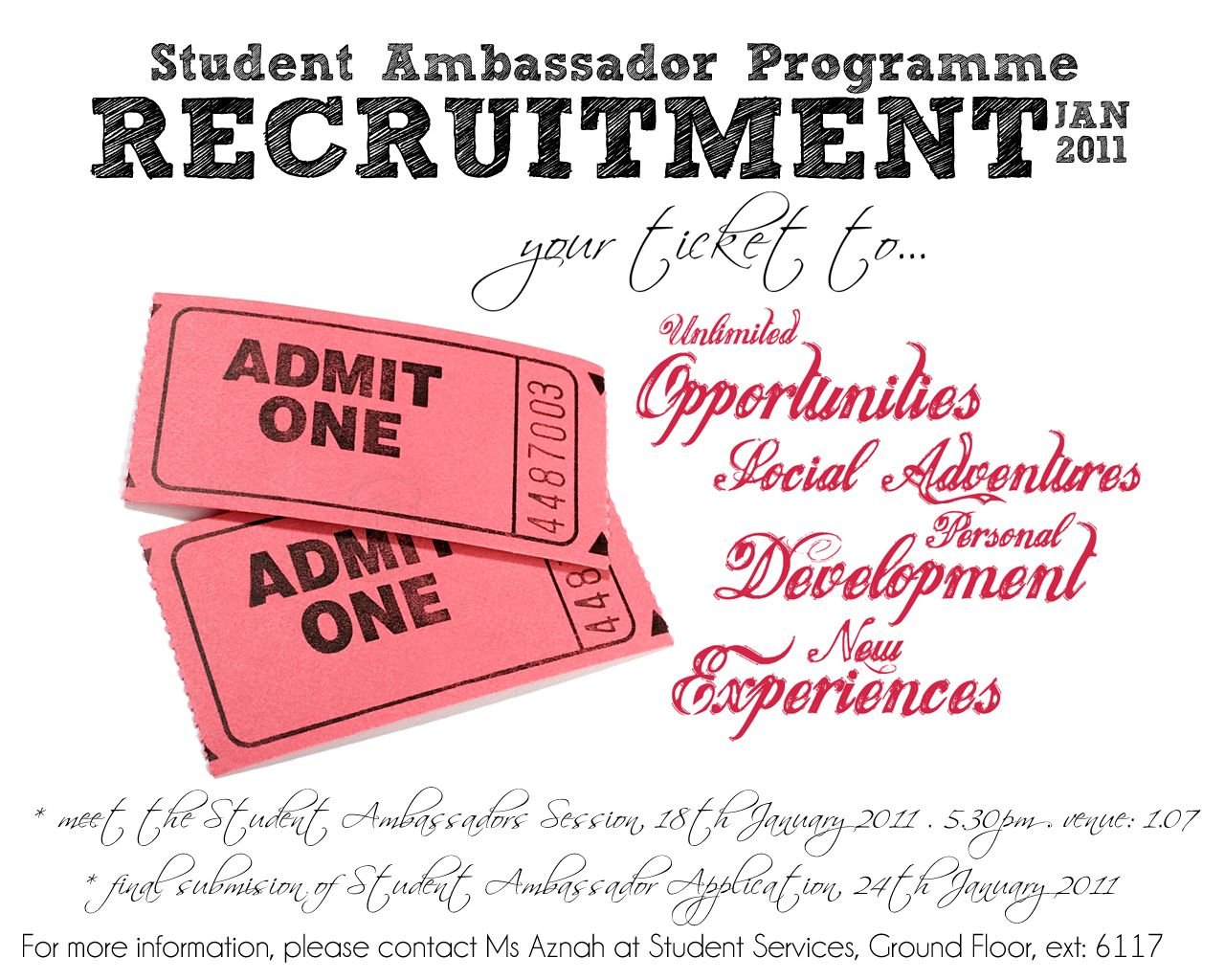 SSD and Student Ambassadors