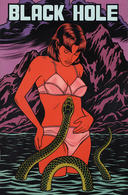 Charles Burns - Agujero negro - Chris Rhodes