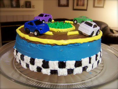 Cakes By Candace Race Car Cake