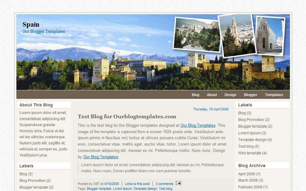 Our Blogger Templates  Spain 5f3c7e0581