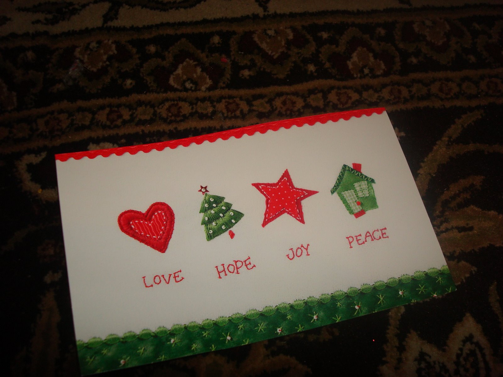 Reusing old Christmas cards