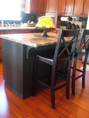 A Beadboard Kitchen Island. From Thrifty Decor Chick