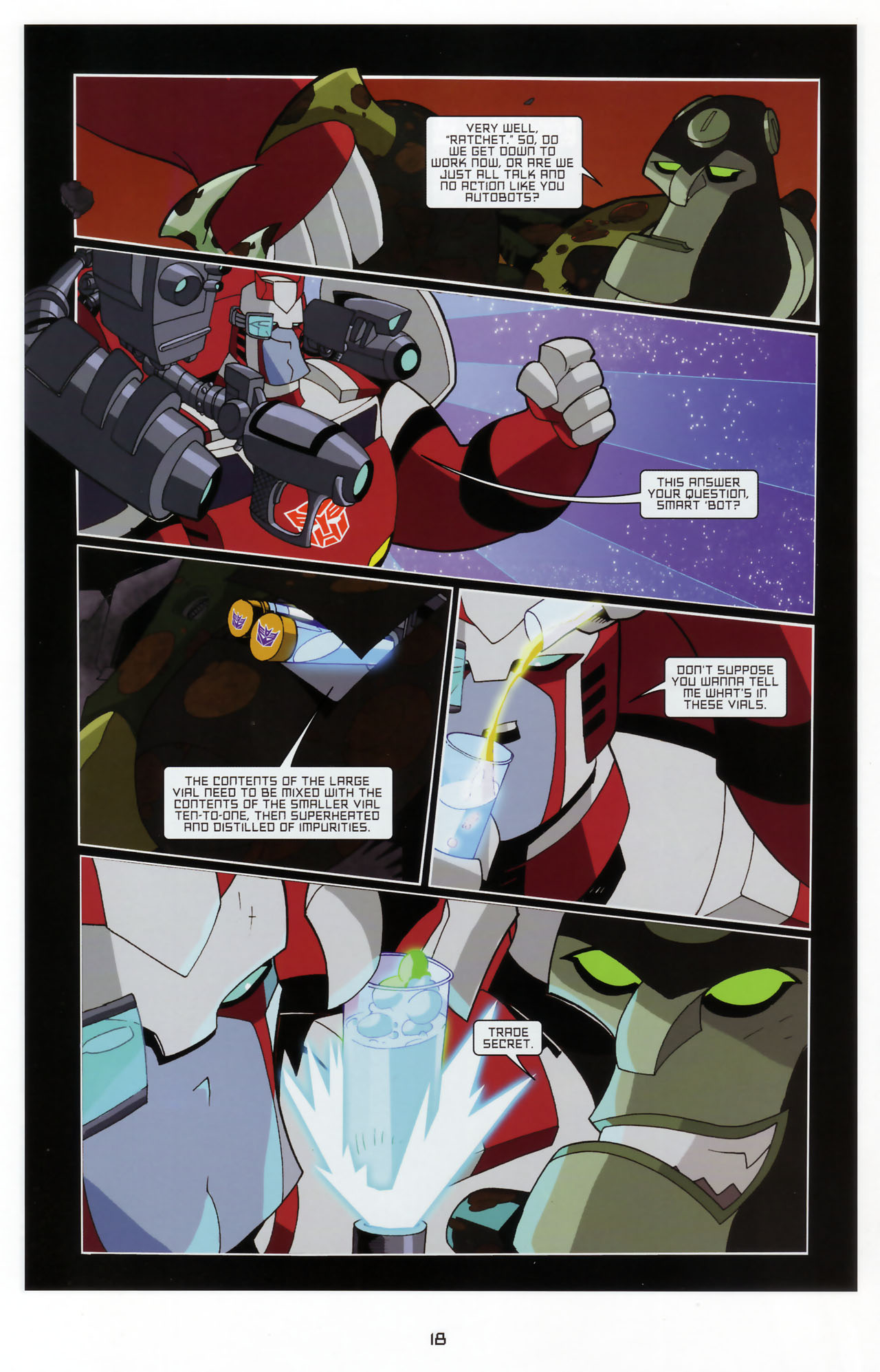 Read online Transformers Animated: The Arrival comic -  Issue #3 - 20