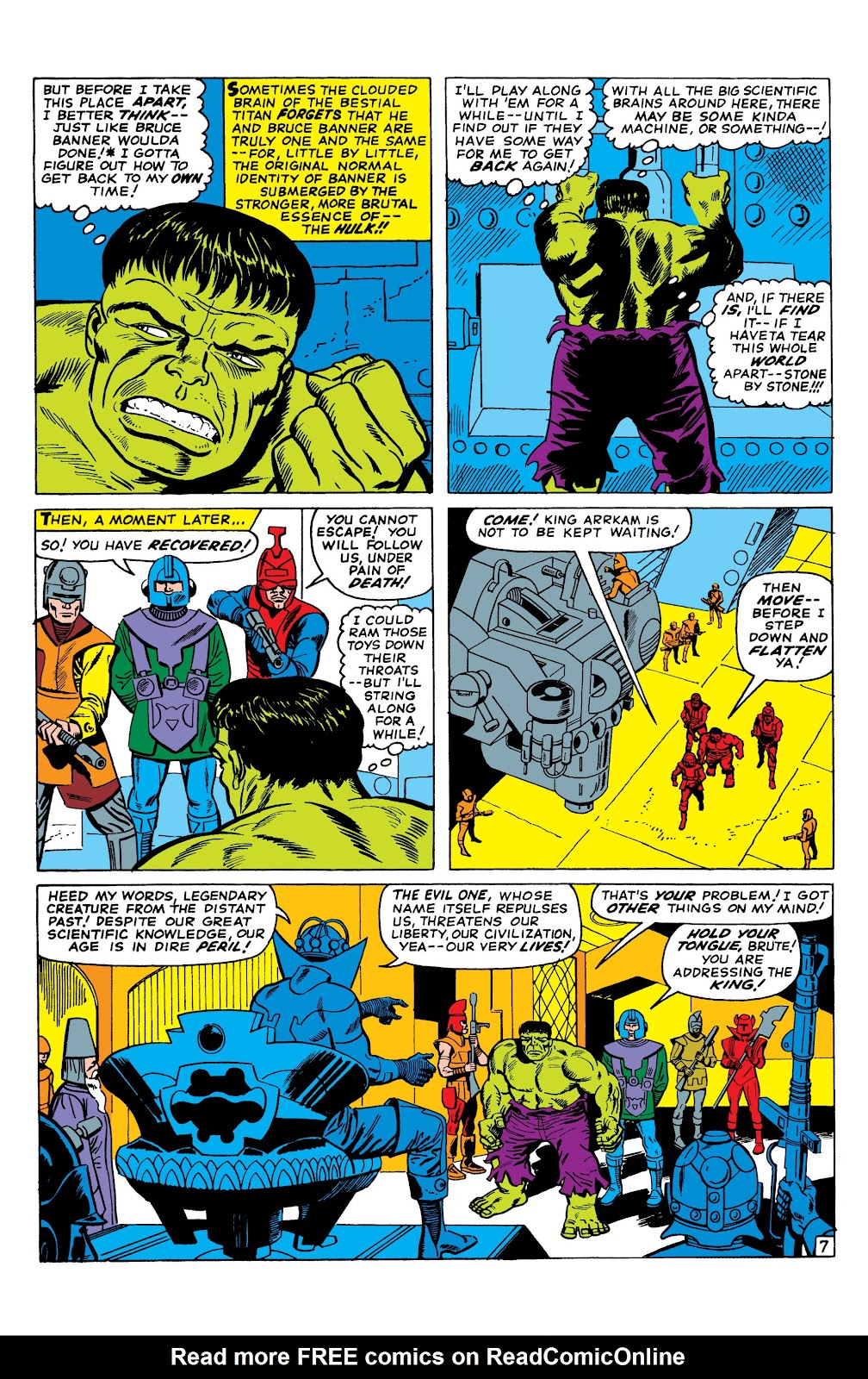Read online Marvel Masterworks: The Incredible Hulk comic -  Issue # TPB 2 (Part 3) - 7