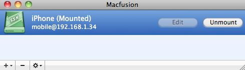 Seguridad Apple: SSHFS: Montar en tu Mac OS X los ficheros de tu iPhone