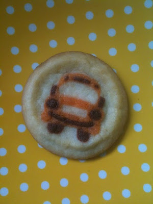 Fun School Bus Cookies from Pilsbury