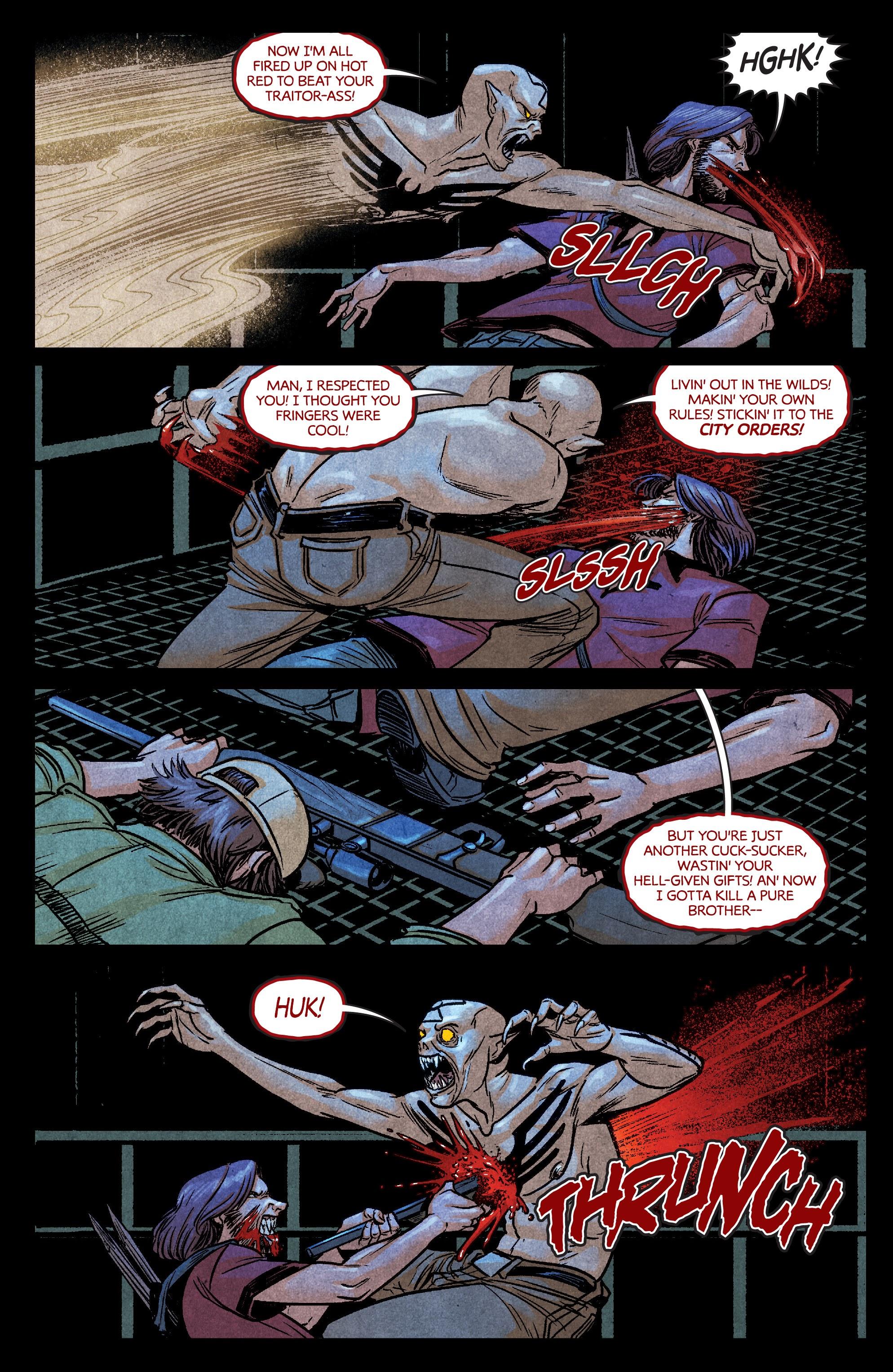 Read online Dark Red comic -  Issue #4 - 19