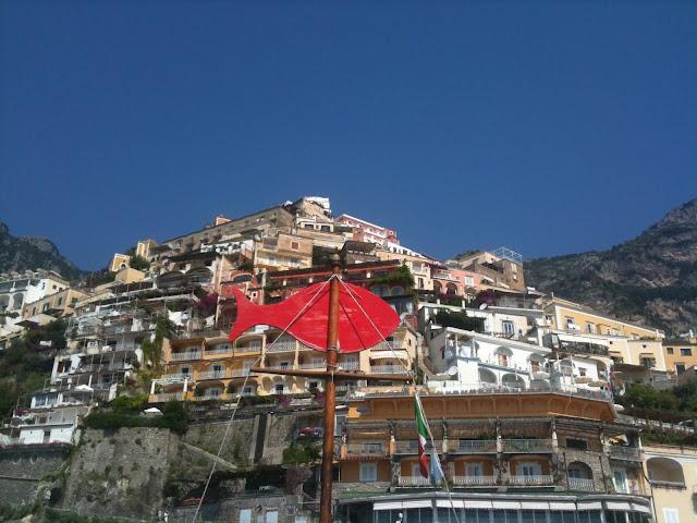 Mid-summer on the Amalfi Coast