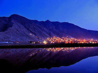 Quetta at night
