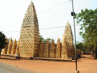 mosque in Bobodioulasso