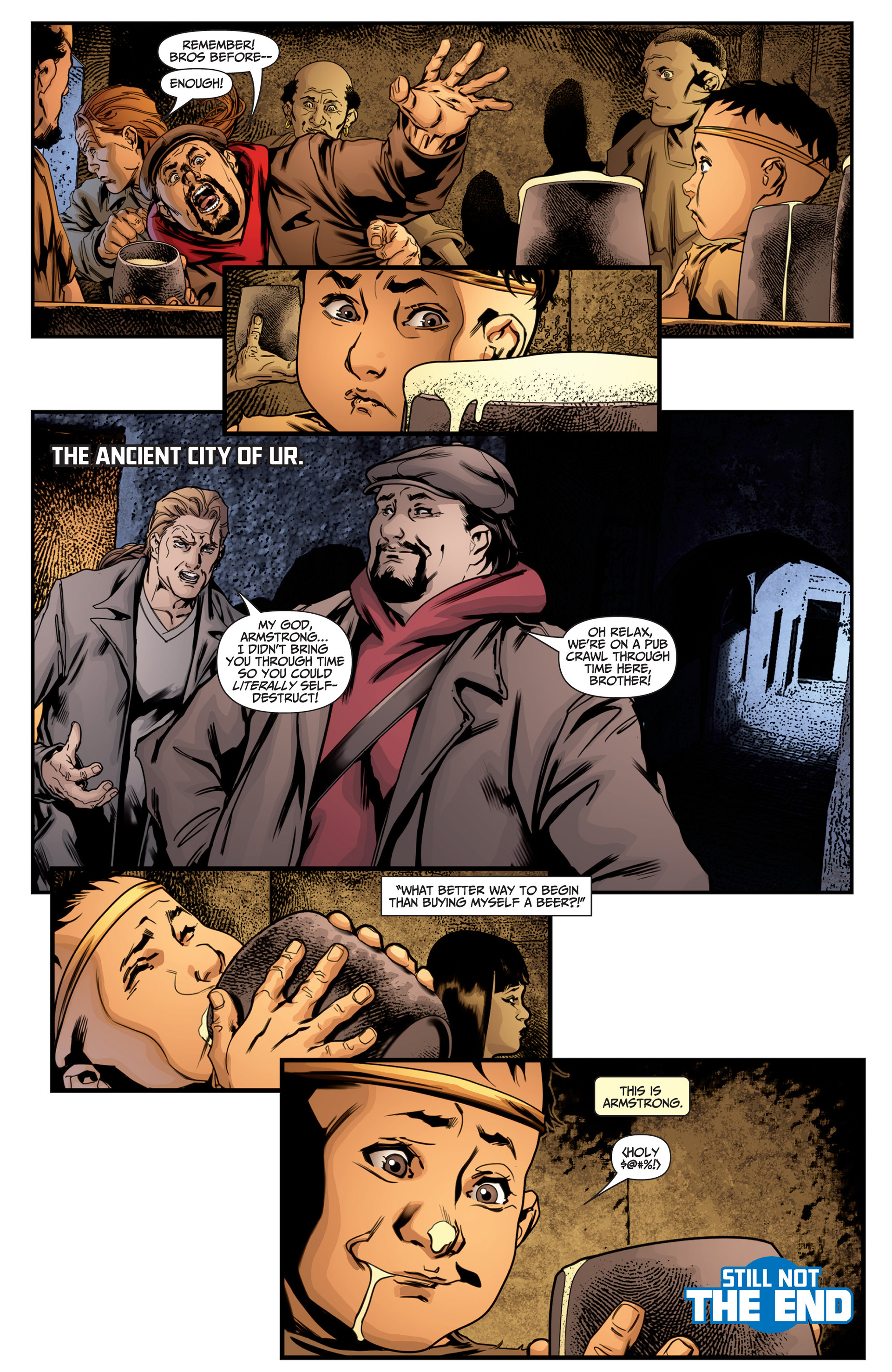 Read online Archer and Armstrong comic -  Issue #25 - 30