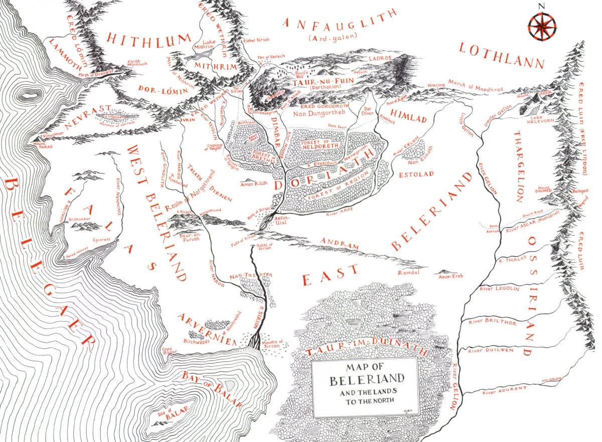 children of hurin map -#main