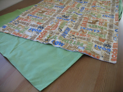 Rag Edge Baby Blanket Tutorial - Sew Much Ado
