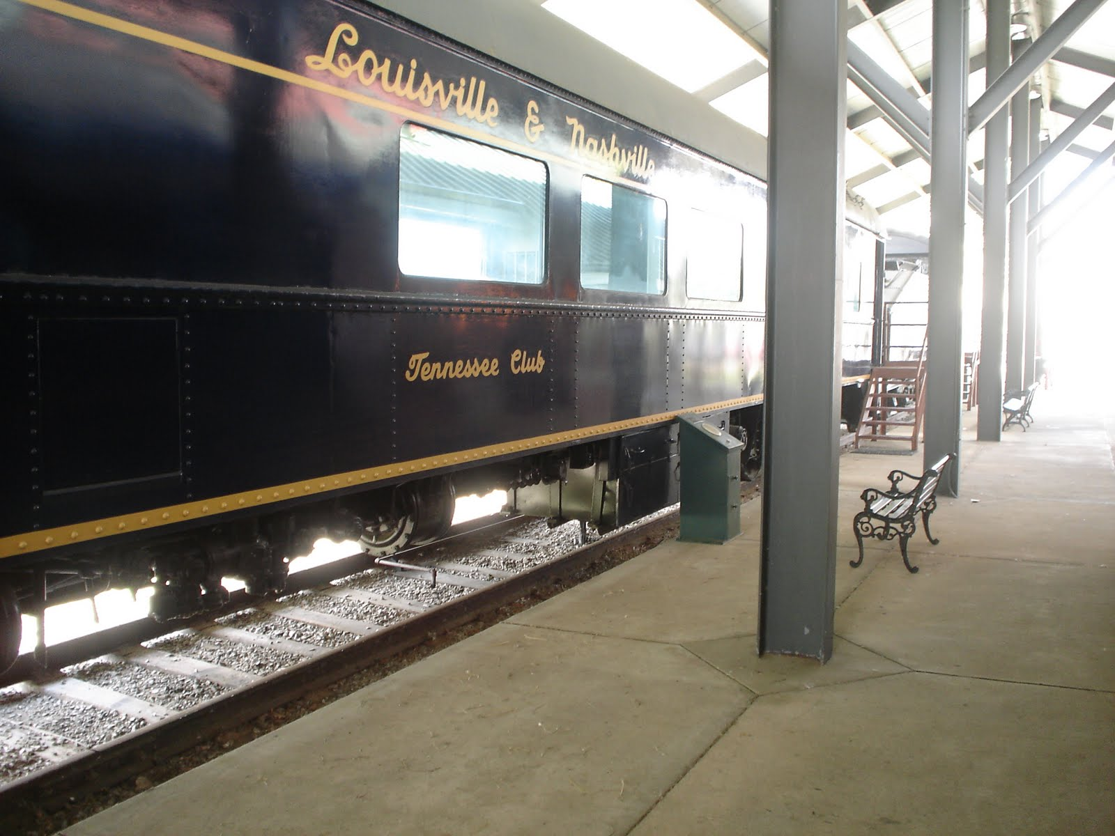 Used Cars Louisville Ky >> The TSGS Cruiser: Train Passenger Car at Evansville Museum