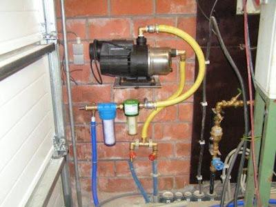 Betere Live from Kessel: 01-12-2007: Waterpomp en filters installeren ON-97