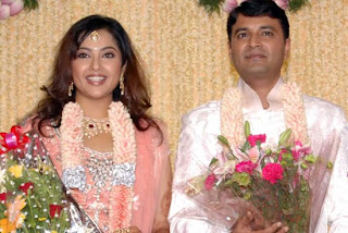 Actress Meena And Vidhyasagar S Wedding Reception Photo