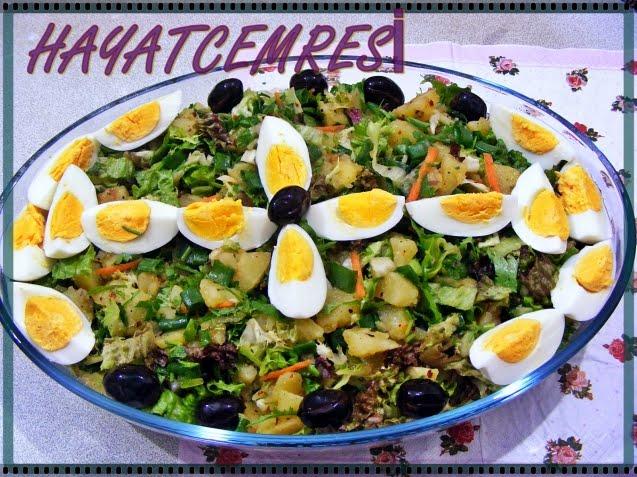 Yumurtalı Patates Salatası Videosu