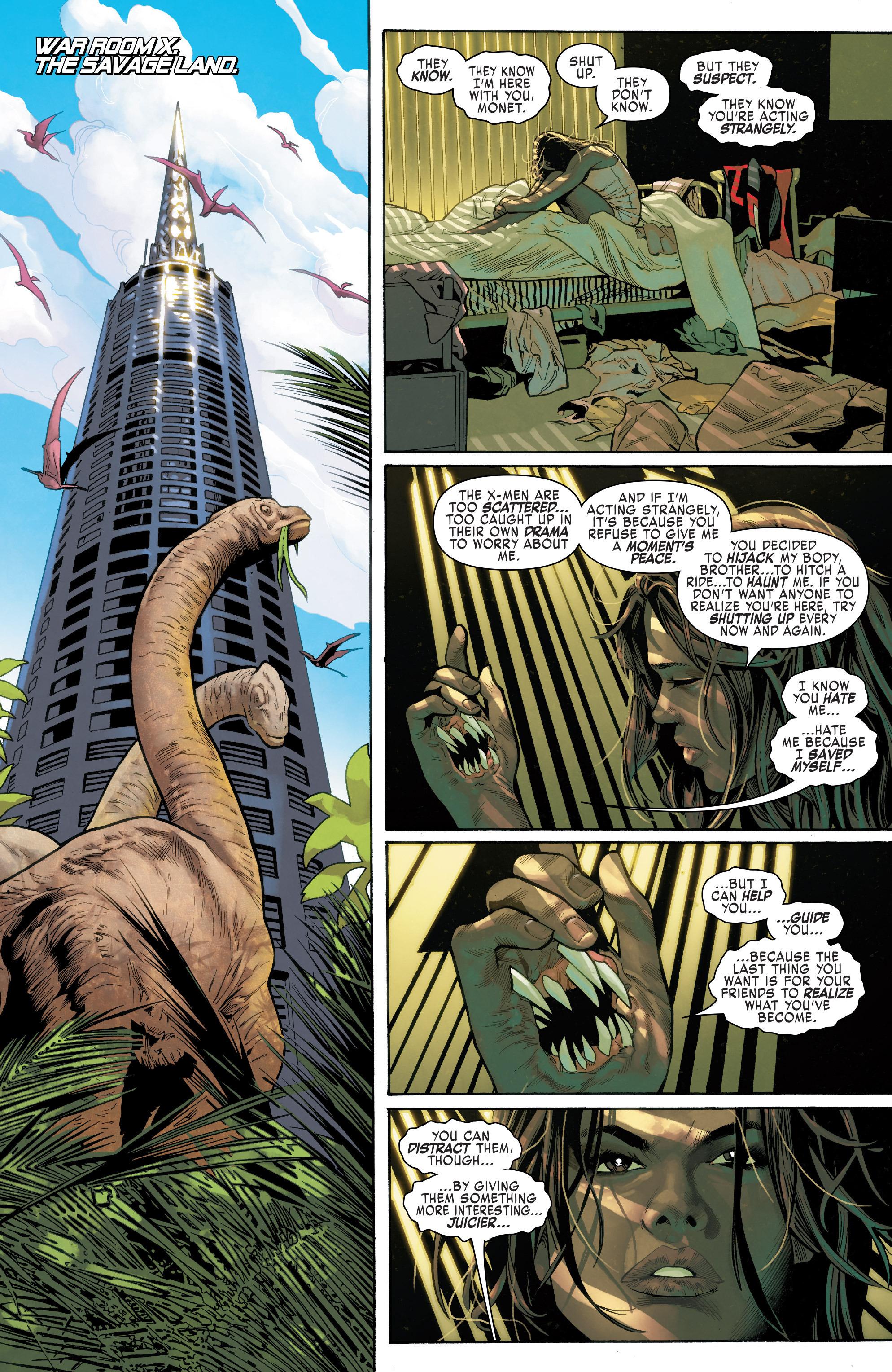Read online Uncanny X-Men (2016) comic -  Issue #11 - 8
