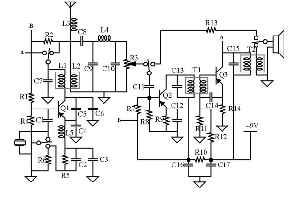 27mhz cb receiver circuit
