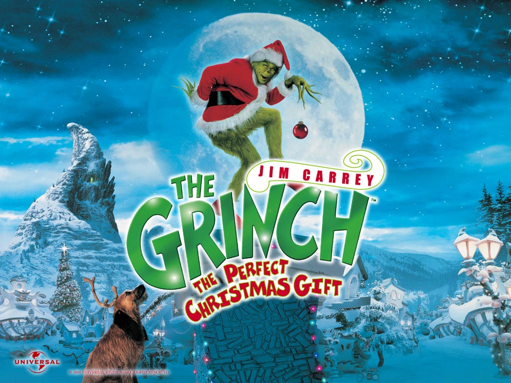 THE GRINCH JIM CAREY WALLPAPERS