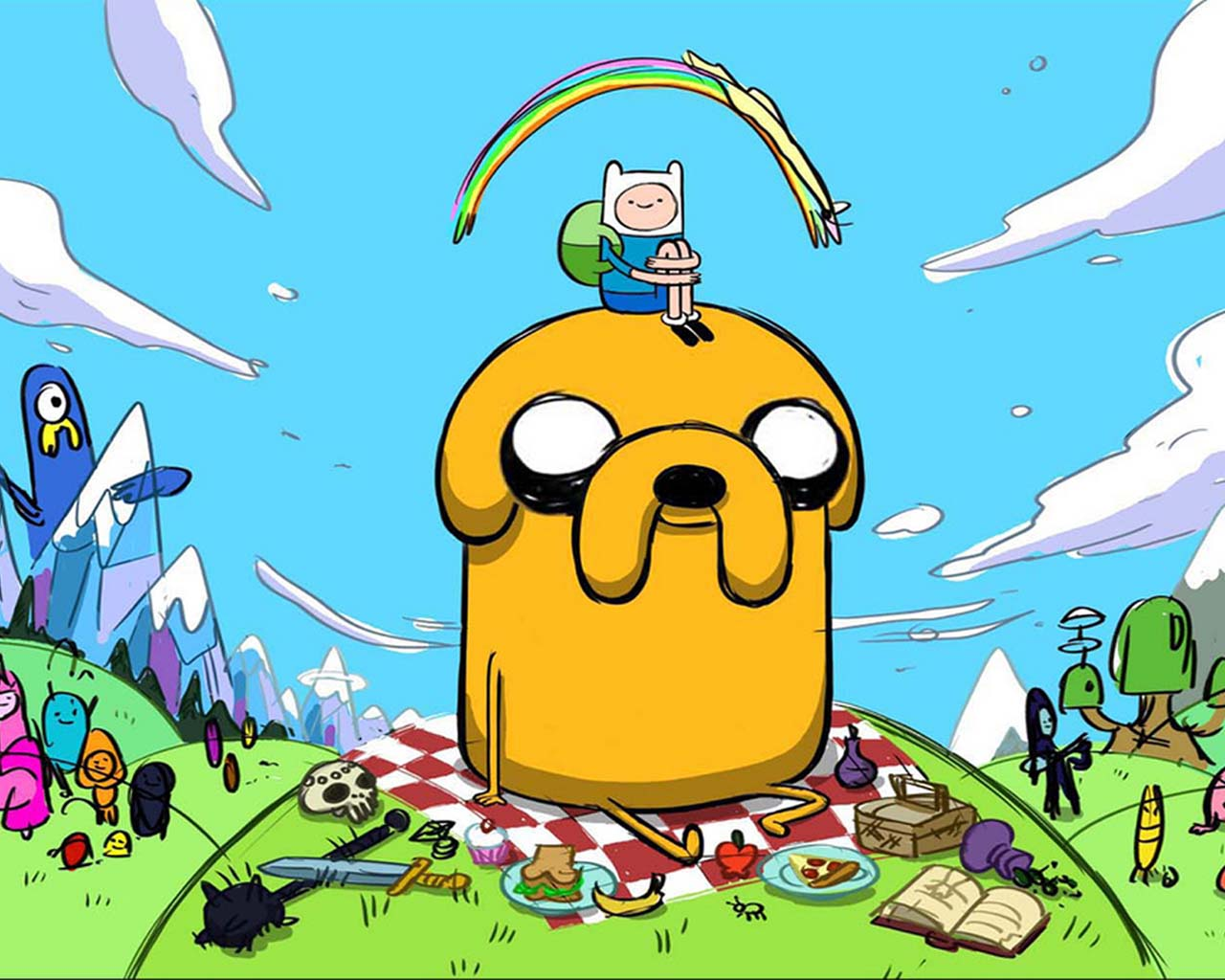 ADVENTURE TIME WALLPAPERS (HORA DE AVENTURA CARTOON NETWORK