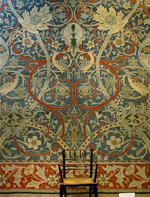 William Morris Fan Club: The Bullerswood Carpet, Now you ...