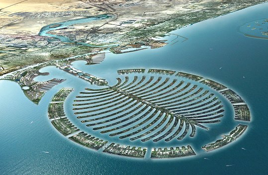Islas artificiales de Dubai
