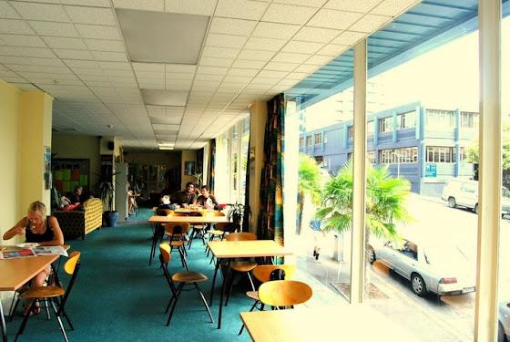 Una foto de uno de los hostels