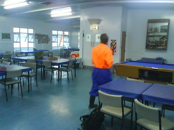 El Comedor de la Fish Factory en Tauranga