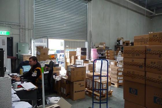 Este es el Warehouse del lugar donde trabajé