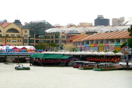 Clarque Quay en Singapur