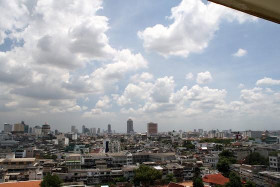 Así se ve la ciudad de Bangkok