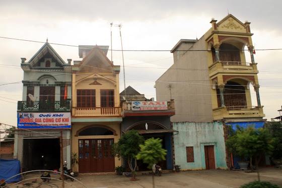 Este es el tipo de construcción típico de Vietnam