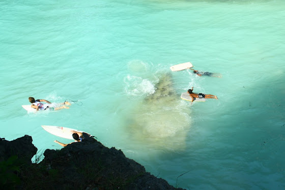 Surfers en Uluwantu