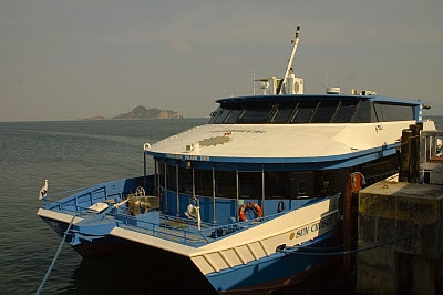 ferry to corregidor island