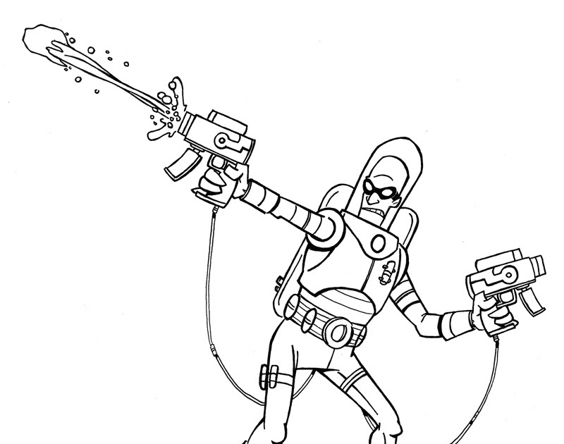 The House of Sketch: Mr Freeze