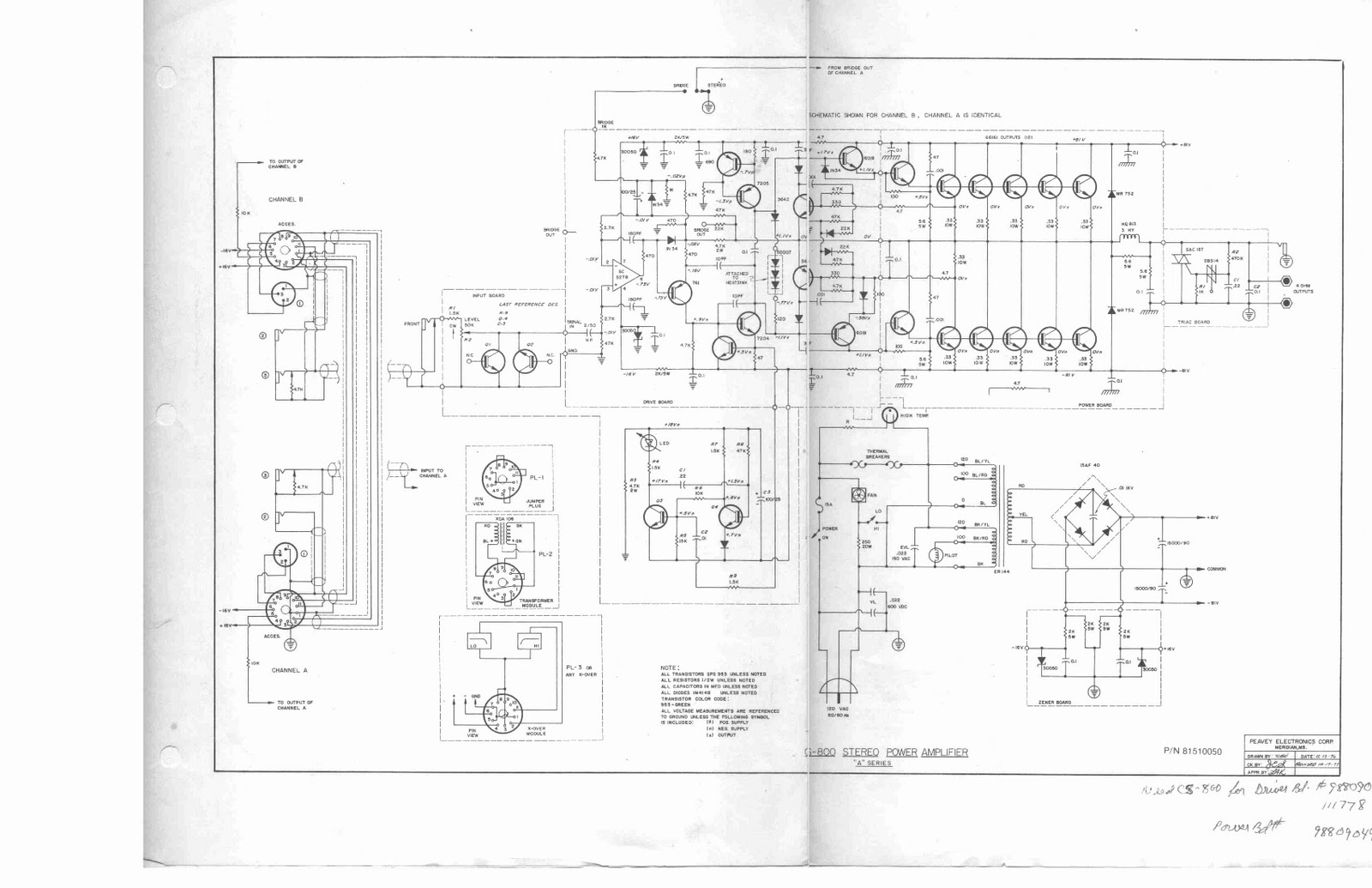 Skema Schematic Audio Power Amplifier Purwokerto