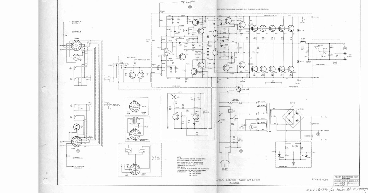 skema schematic audio power amplifier purwokerto: cs 800 s