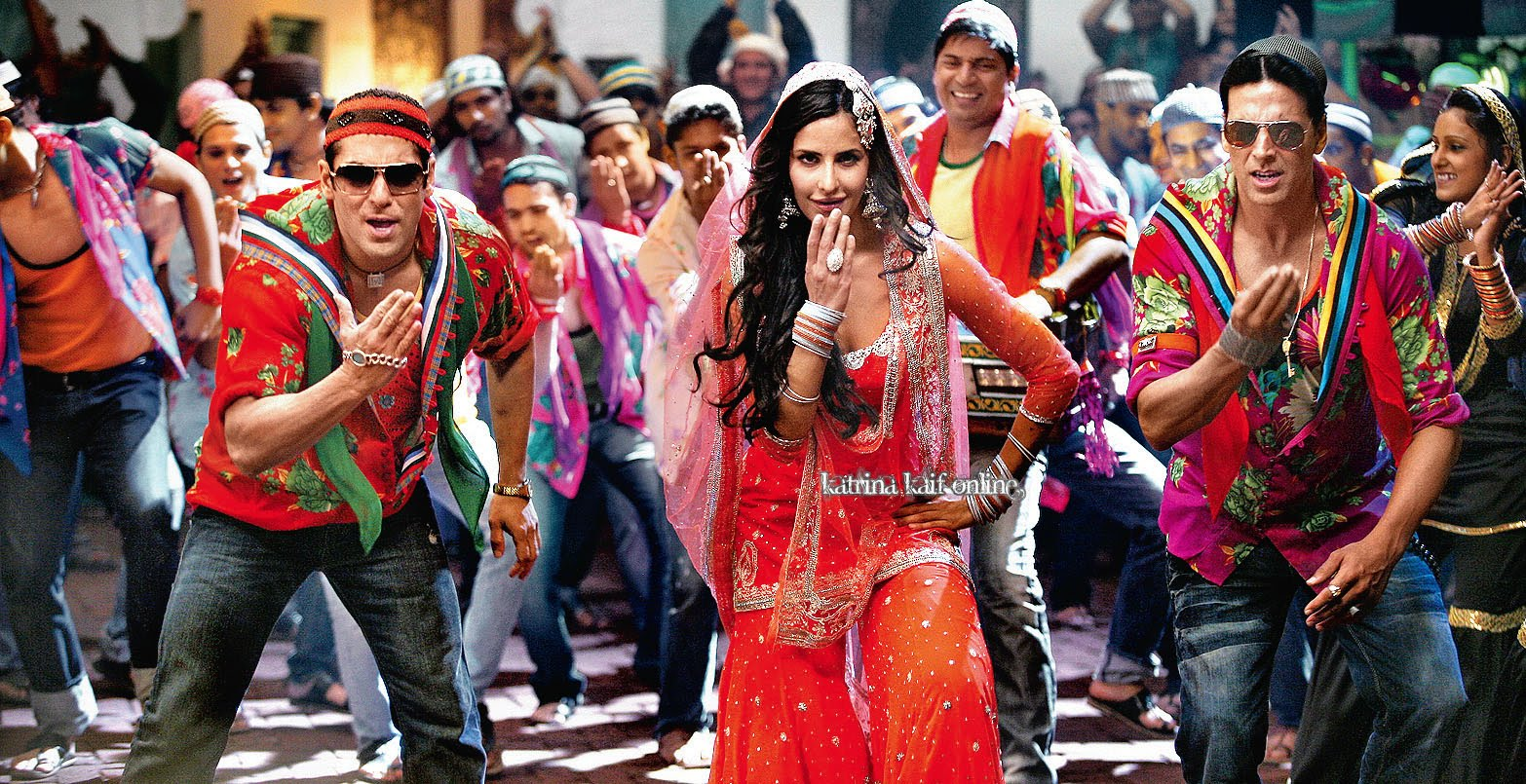 Bollywood Paradize Salman Khan, Akshay Kumar And Katrina